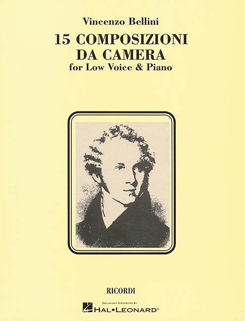 15 Composizioni Da Camera By Bellini, Vincenzo (COP)